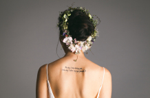Flower-inspired bridal shoot